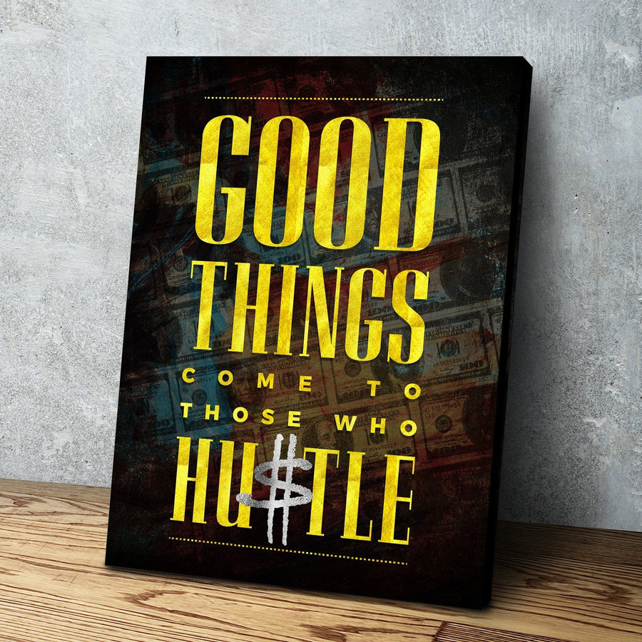 The Hustle Canvas Set