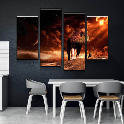 The Real Lion King Canvas Set