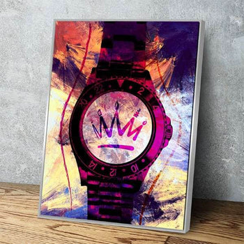 Tick Tock Hustle  Canvas Set