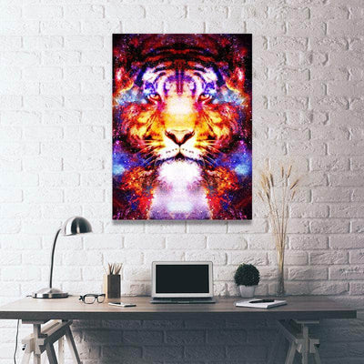Tiger Constellation Canvas Set