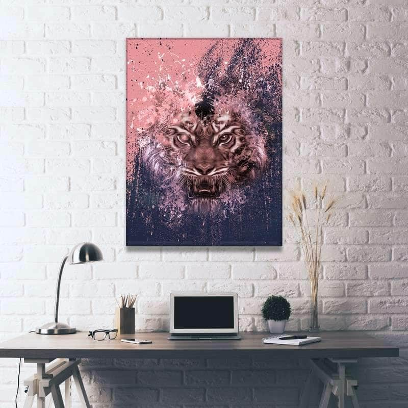 Infected Tiger Canvas Set