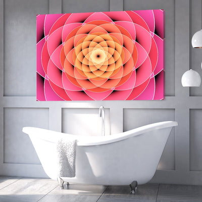 Vibrant Bloom Canvas Set