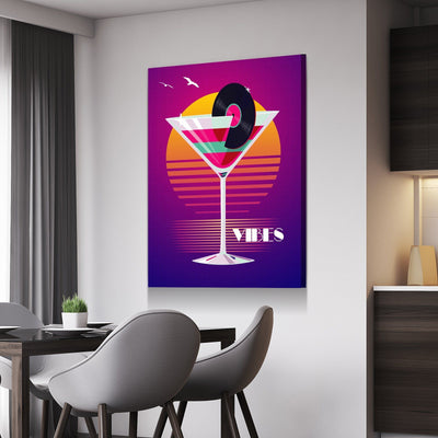 Vice City Vibes Canvas Set
