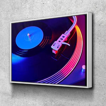 Vinyl Vibes Canvas Set