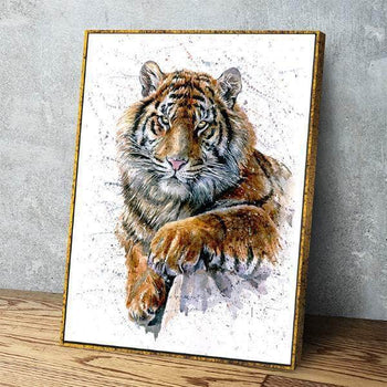 Wild Tiger Canvas Set