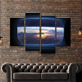 Window Views Canvas Set