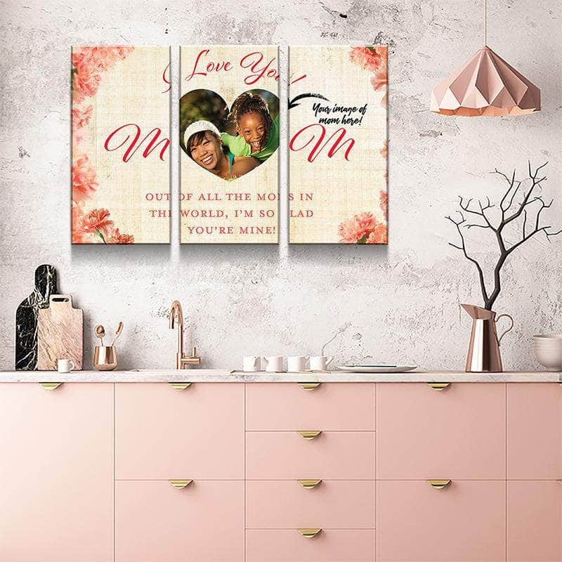 Love For Mom Canvas Set