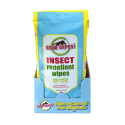 Buzz Wipes - Insect Repellent Wipes