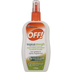 Off! Tropical Strength Insect Repellent Pump Spray