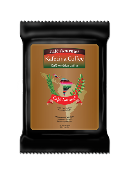 Café Gourmet - Café Natural packets