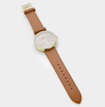 Gold and Tan Watch - That Shuu Girl Boutique LLC