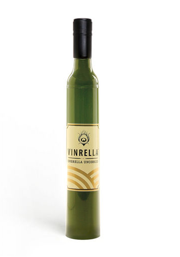 Green Wine Bottle Umbrella, umbrella, That Shuu Girl Boutique LLC  - That Shuu Girl Boutique LLC