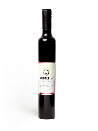 Black Wine Bottle Umbrella, umbrella, That Shuu Girl Boutique LLC  - That Shuu Girl Boutique LLC