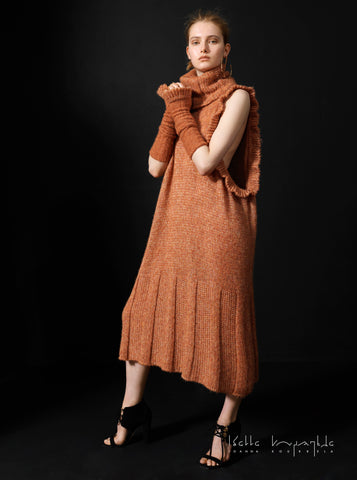 Beloved Knit Turtleneck Dress
