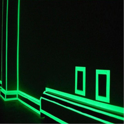 DIY Glowing Lumious tapes stripes Night lighting emergency lines
