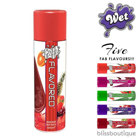 Wet Flavoured Lube (102g)
