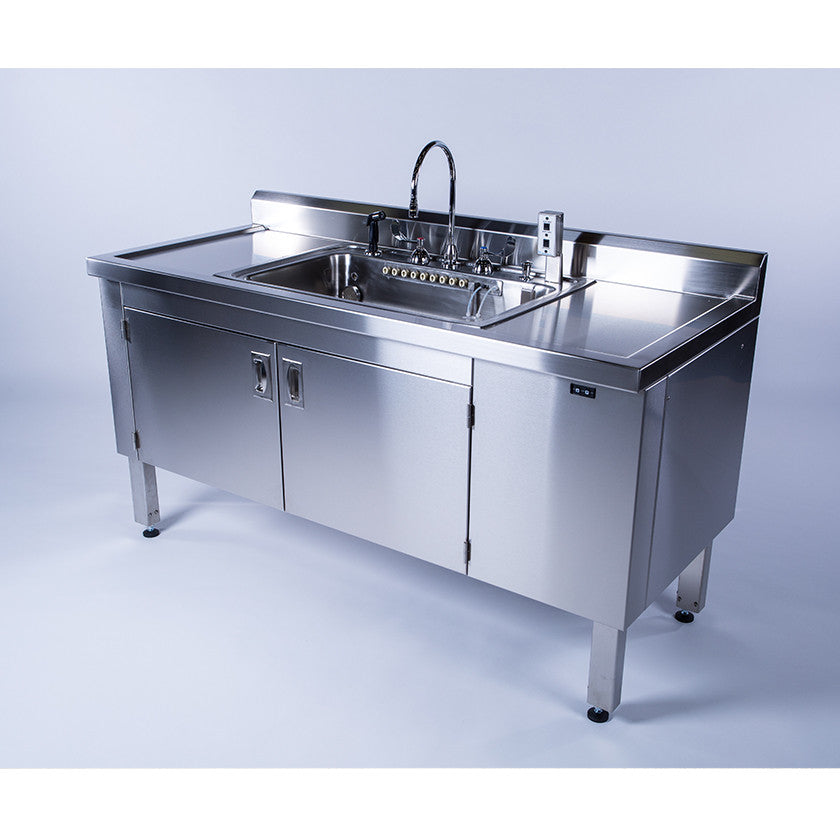 Adjustable Height Scope Sinks