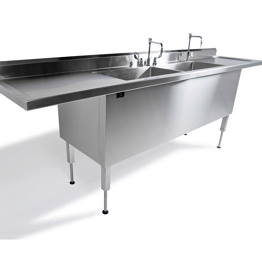 Adjustable Height Sinks