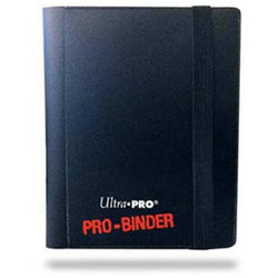 Binder - Ultra Pro 2-Pocket Pro Binder (Black)