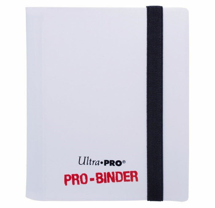 Binder - Ultra Pro 2-Pocket Pro Binder (White)