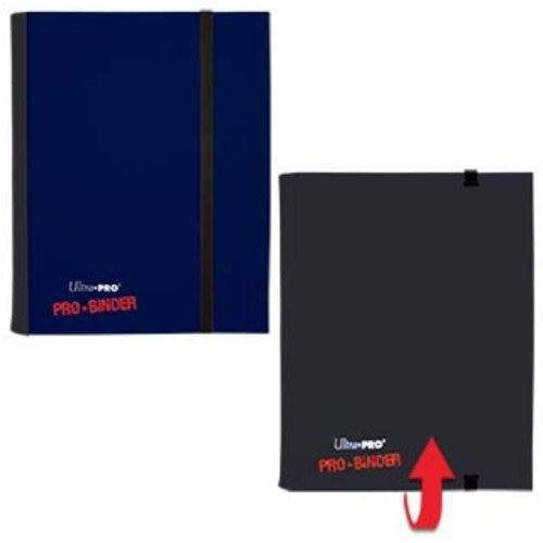 Binder - Ultra Pro 4-Pocket Flip Pro Binder (Blue & Black)