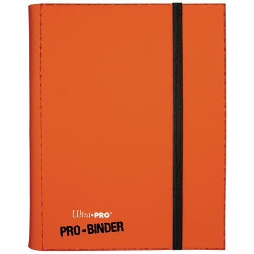 Binder - Ultra Pro 9-Pocket Pro Binder (Orange)