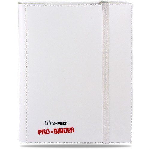Binder - Ultra Pro 9-Pocket Pro Binder (White On White)