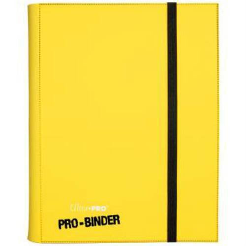 Binder - Ultra Pro 9-Pocket Pro Binder (Yellow)