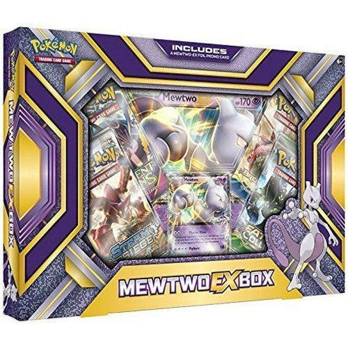 Booster Packs - Pokemon Mewtwo-EX Box