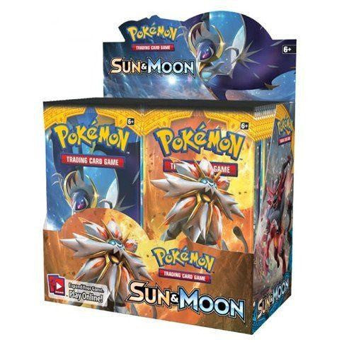 Booster Packs - Pokemon Sun And Moon Booster Box