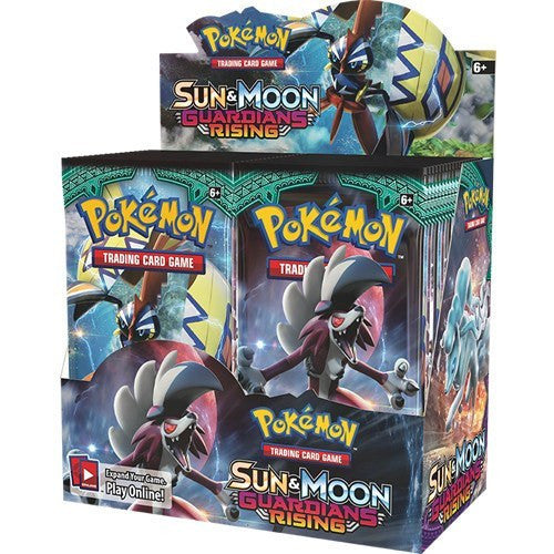 Booster Packs - Pokemon Sun And Moon Guardians Rising Booster Box
