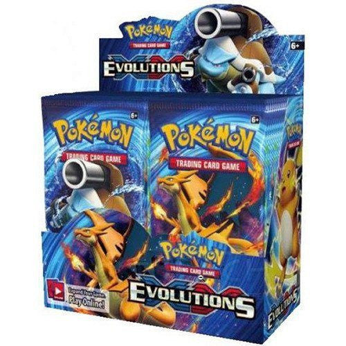 Booster Packs - Pokemon XY 12 Evolutions Booster Box