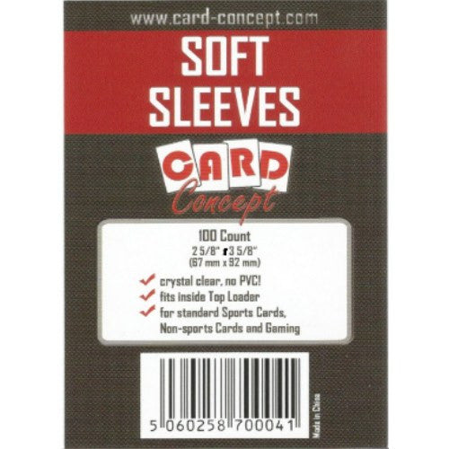 Card Concept Standard Soft Card Sleeves (100)