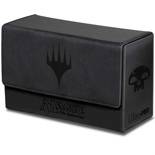 Deck Box - Dual Flip Deck Box - Magic Mana - Black