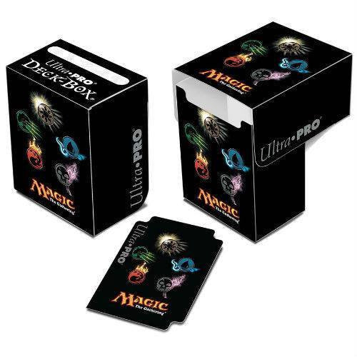 Deck Box - Magic The Gathering Deck Box - Mana 4-Symbols