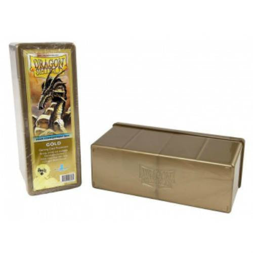 Dragon Shield - 4 Compartment Storage Box (Gold)