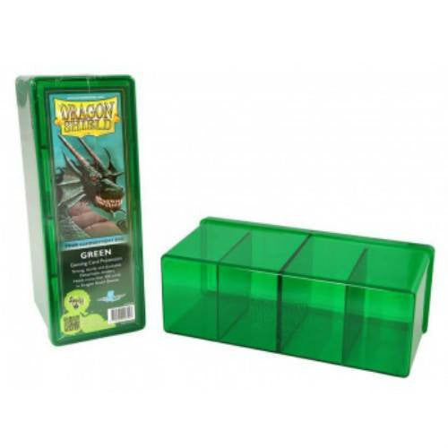 Dragon Shield - 4 Compartment Storage Box (Green)
