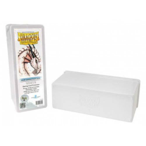 Dragon Shield - 4 Compartment Storage Box (White)