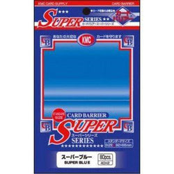 KMC Sleeves - KMC Standard Deck Protectors (80 Super Blue)