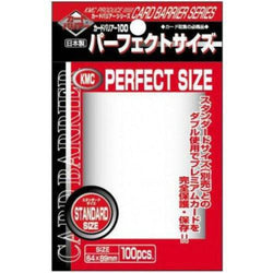 KMC Standard Size Sleeves Perfect Size (100)