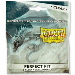 Sleeves - Dragon Shield - Perfect Fit Clear - Sideloaders