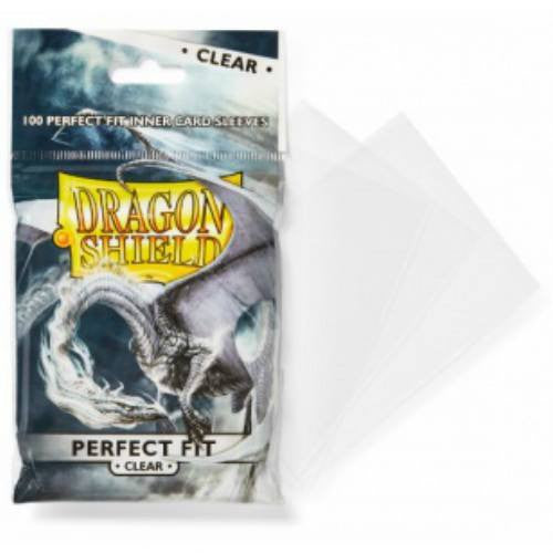 Sleeves - Dragon Shield - Perfect Fit Clear - Standard
