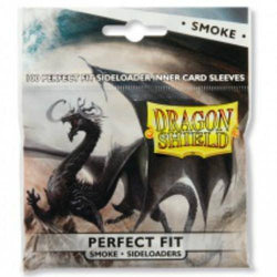 Sleeves - Dragon Shield - Perfect Fit Smoke - Sideloaders