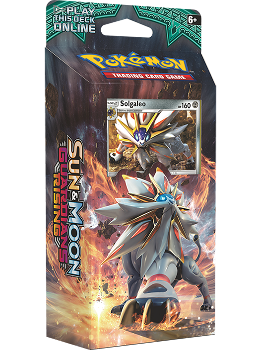 Pokemon Sun and Moon Guardians Rising Theme Deck (Solgaleo)