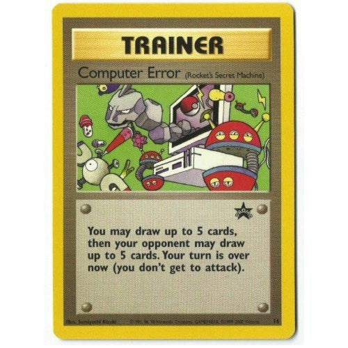 Trading Card - Computer Error 16 - Black Star Promo