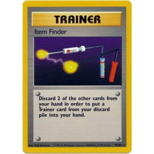 Trading Card - Item Finder 74/102 - Rare - Base Set
