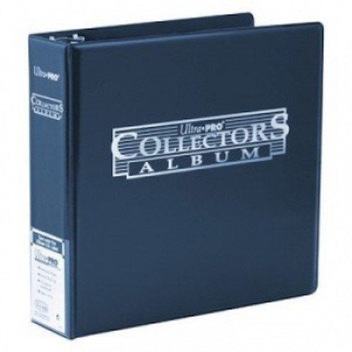 "Ultra Pro  3"" Collectors Album (Blue)"