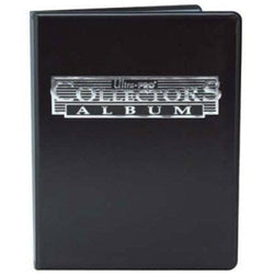 Ultra Pro 4-Pocket Collectors Album (Black)