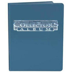 Ultra Pro 4-Pocket Collectors Album (Blue)