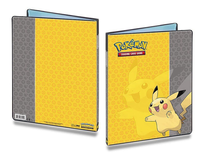 Ultra Pro 9-Pocket Pokemon Pikachu Portfolio